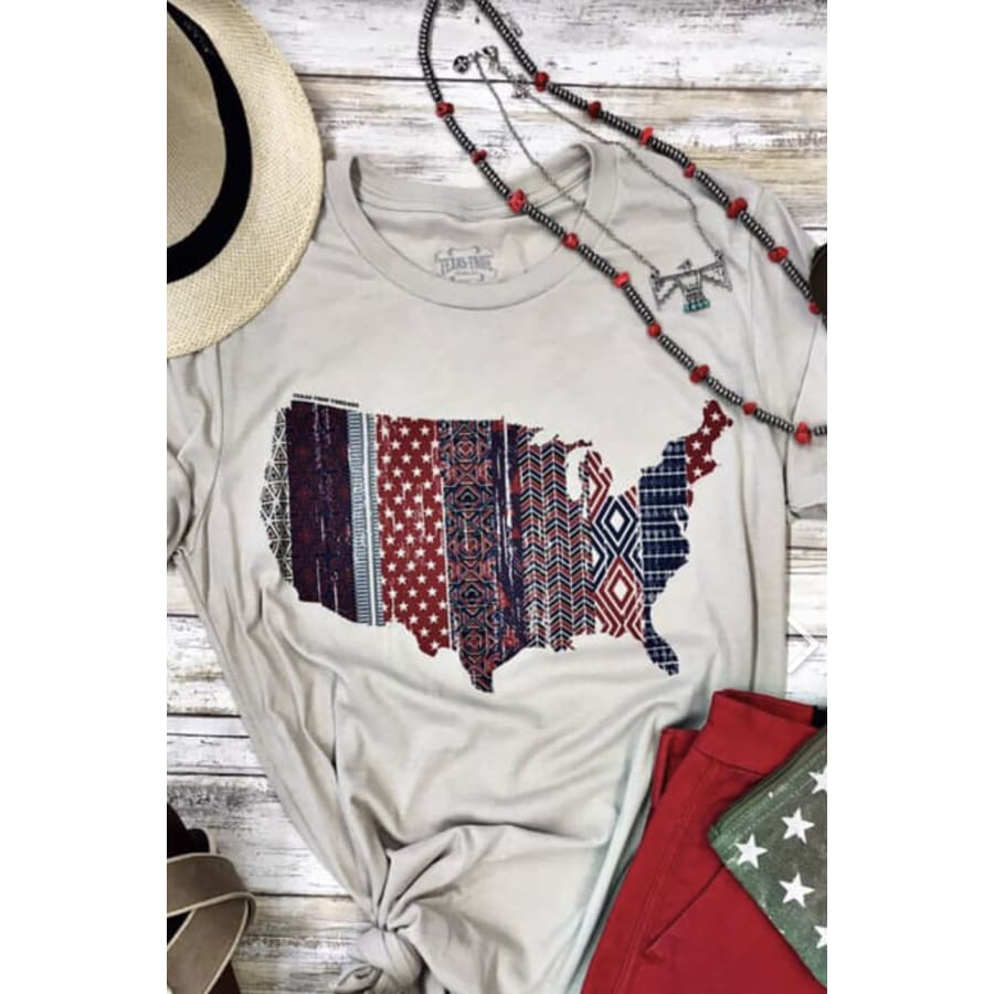 Stars and Stripes Tee - The GyPsY Barn Boutique