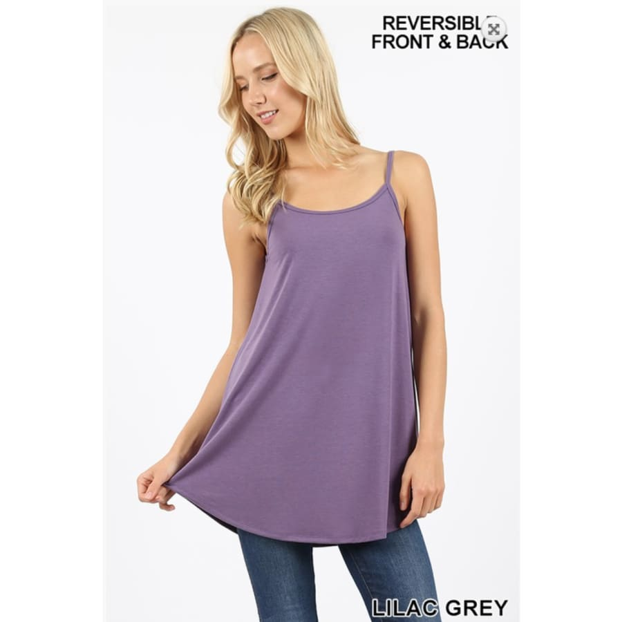 Tank Lilac Grey - The GyPsY Barn Boutique