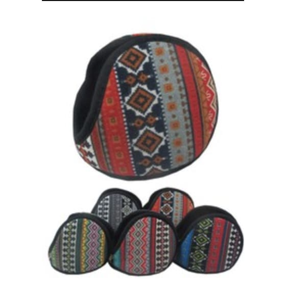 Tribal ear muff - The GyPsY Barn Boutique