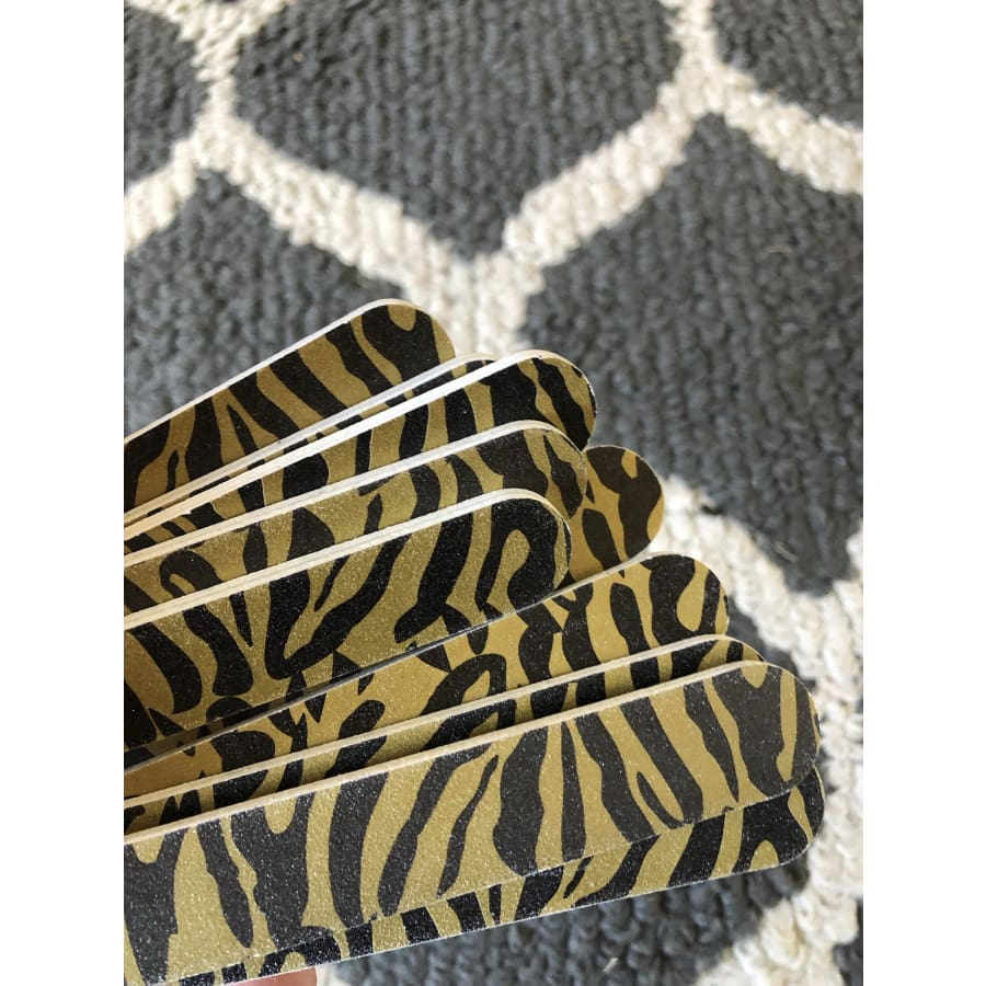 Zebra single Nail File - The GyPsY Barn Boutique