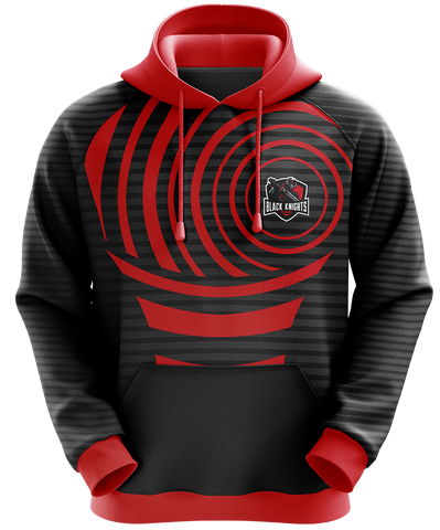 Black Knights Gaming Pull Over Hoodie