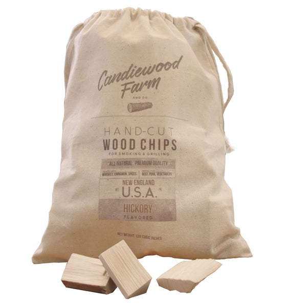 Whiskey-Treated Hickory Wood Chips