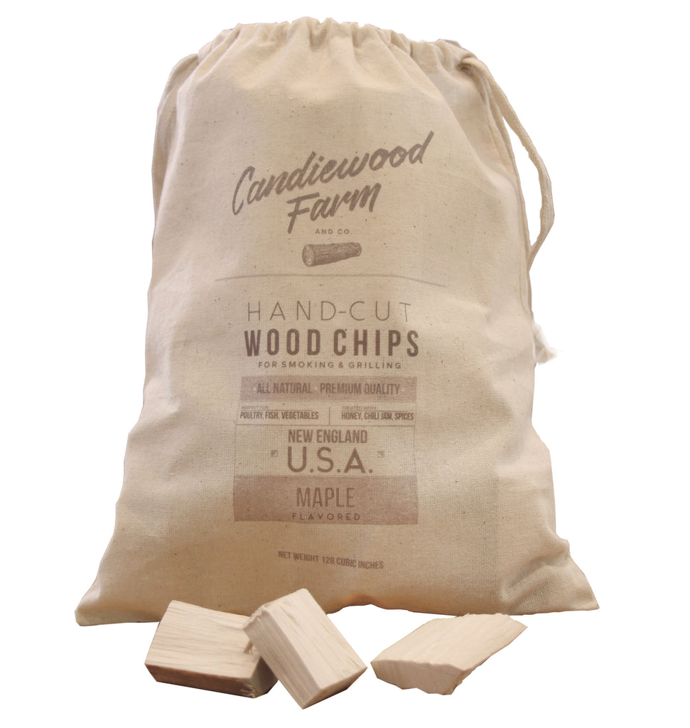 Whiskey-Treated Maple Wood Chips