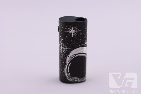 Carved Vape mod/battery (Space)