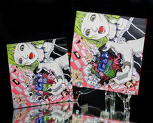 Kago Cube Pin & Sticker Set