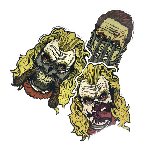 Fury Road Sticker Set