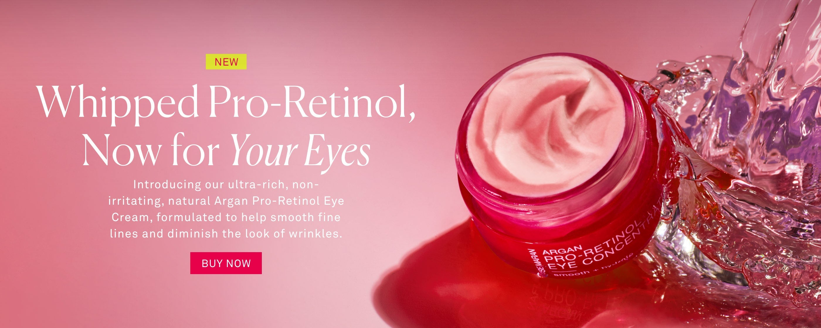 New Pro-Retinol Eye Cream
