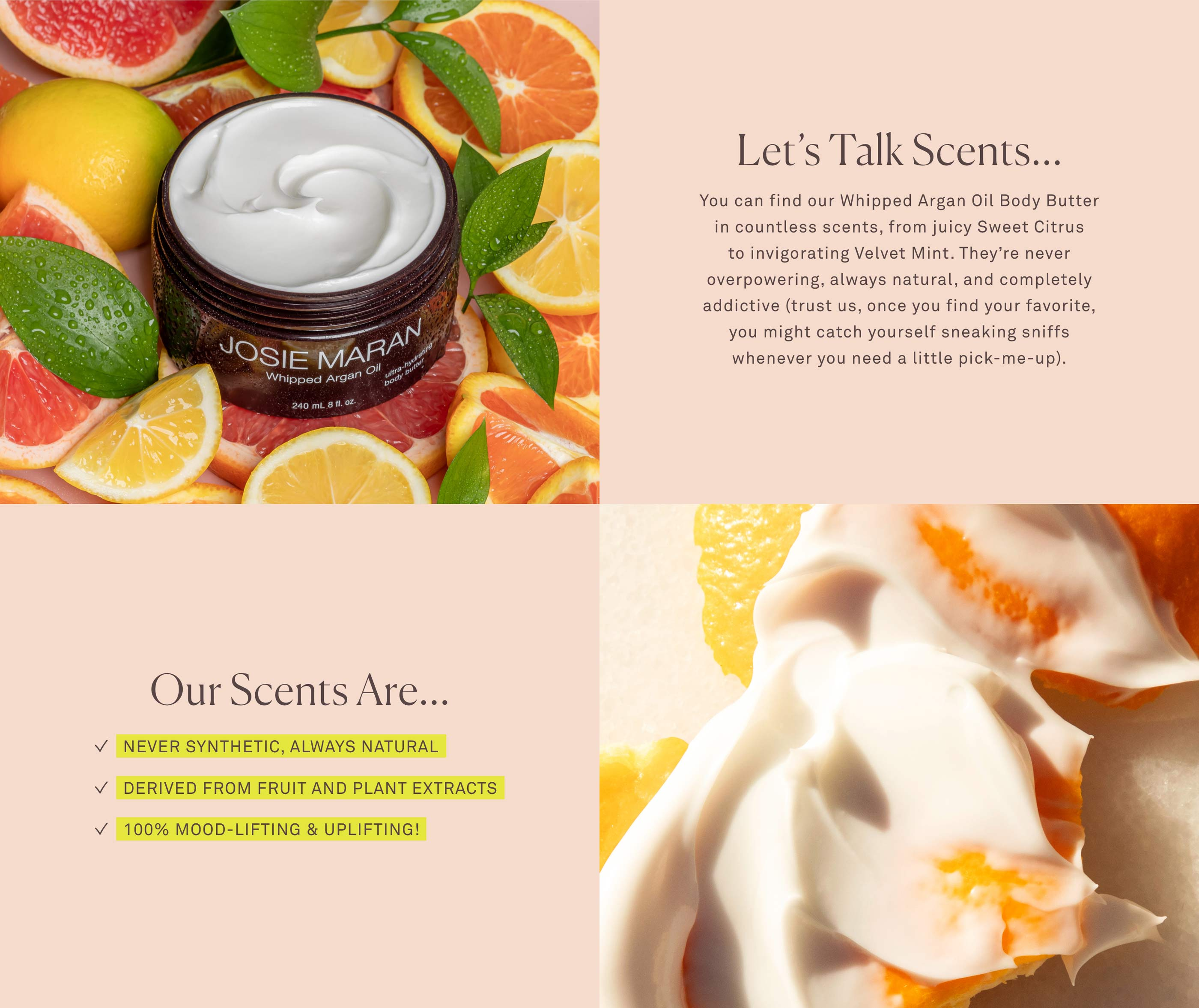 Body Butter Scents