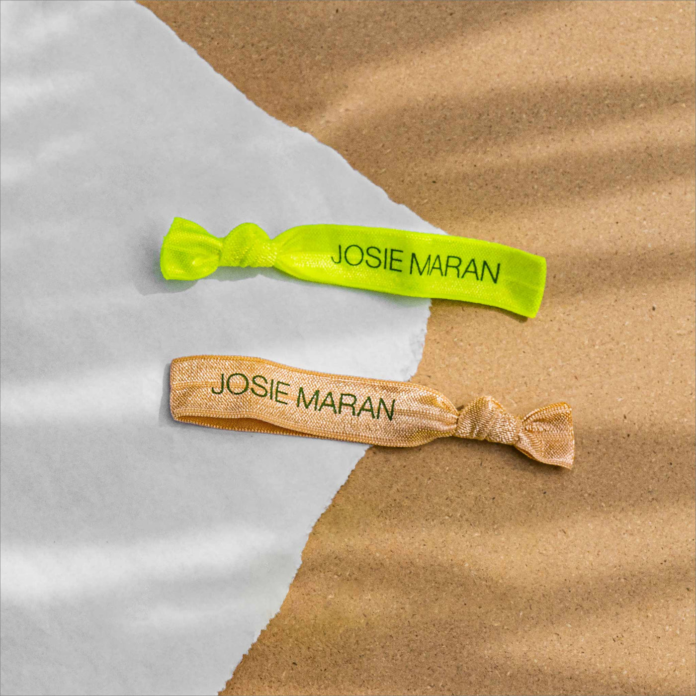 THE JOSIE MARAN HAIR TIES