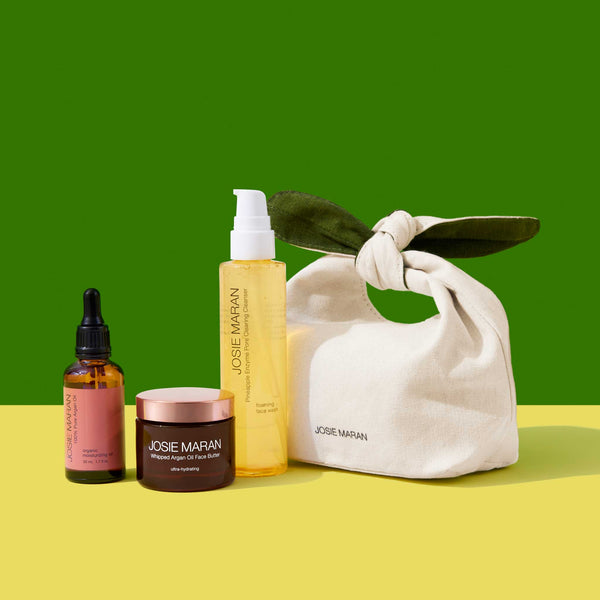 Argan and Pineapple Cleanse + Hydrate Trio