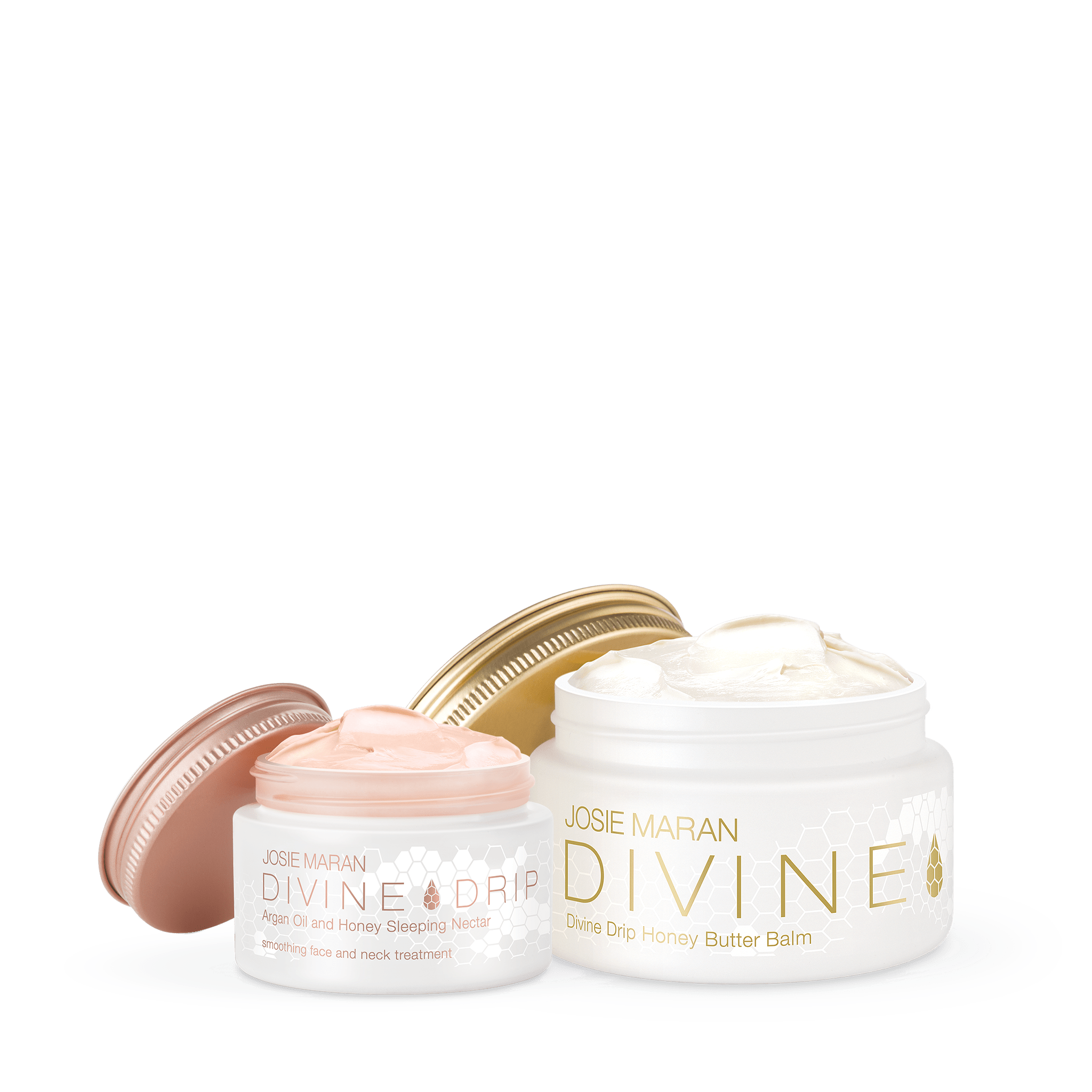 Divine Drip Argan Oil and Honey Face and Body Duo