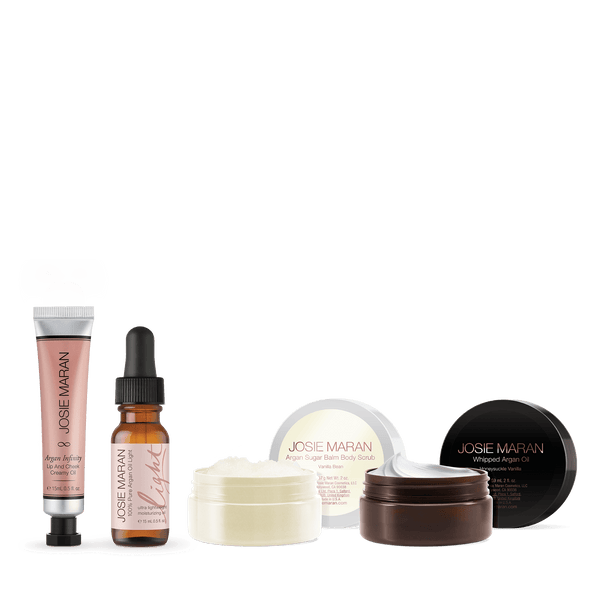 Argan Decadance Head to Toe Travel Set