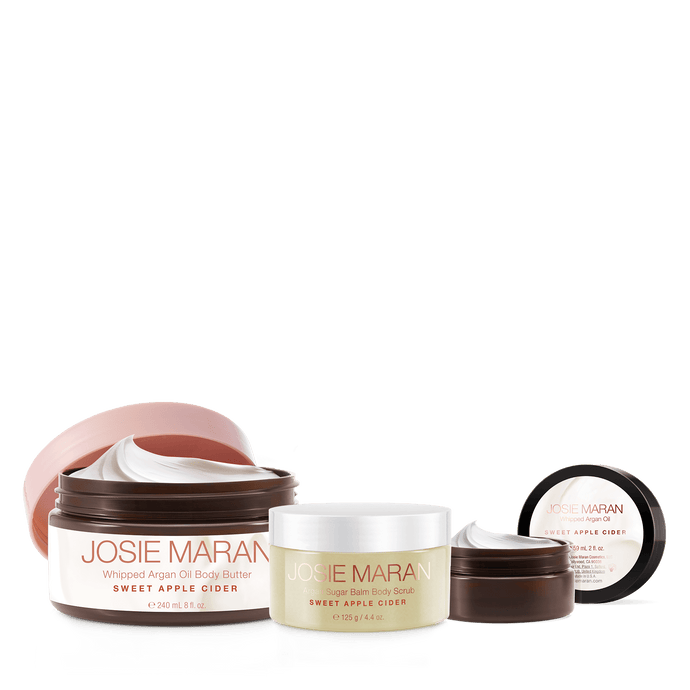 Warm Apple Cider Argan Oil Body Collection