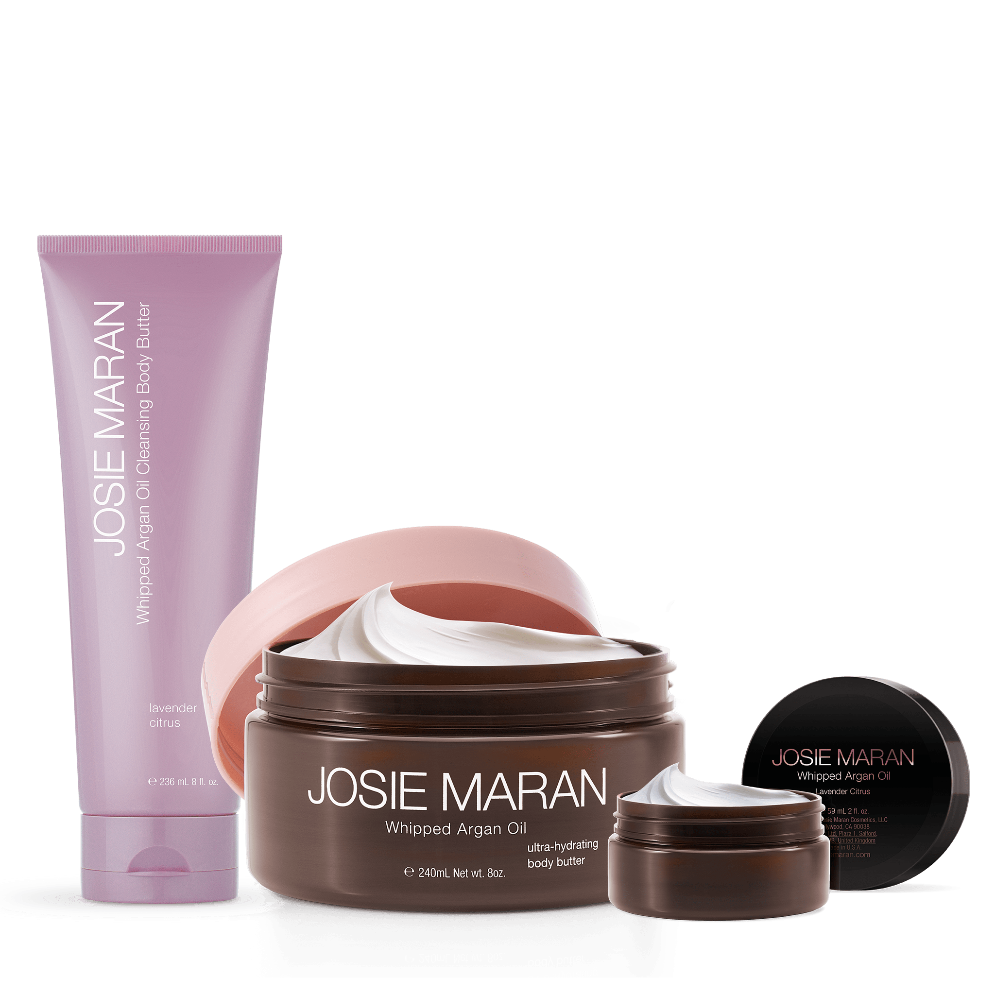 Argan Lavender Citrus Body Trio