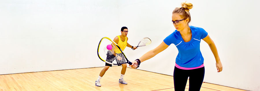 Top 10 Health Benefits of Racquetball by Health Fitness Revolution