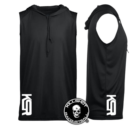 Killshot Racquetball Performance Sleeveless Hoodie | KSR