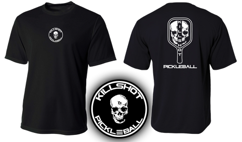 Killshot Pickleball | Pickleball Skull Performance T- Short Sleeve