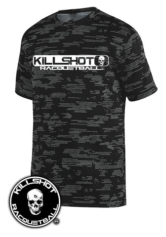 Killshot Racquetball Performance T- Short Sleeve  | Digital Block Killshot