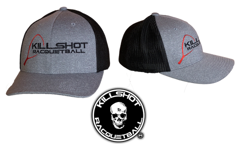 Killshot Racquetball | Flexfit Adult Poly Mélange Stretch Mesh Cap