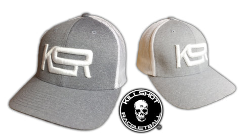 Killshot Racquetball | KSR | Flexfit Adult Poly Mélange Stretch Mesh Cap