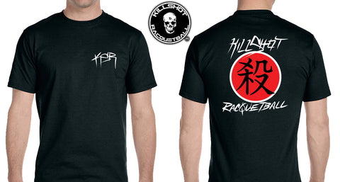 Killshot Racquetball | Killshot Kanji T Shirt