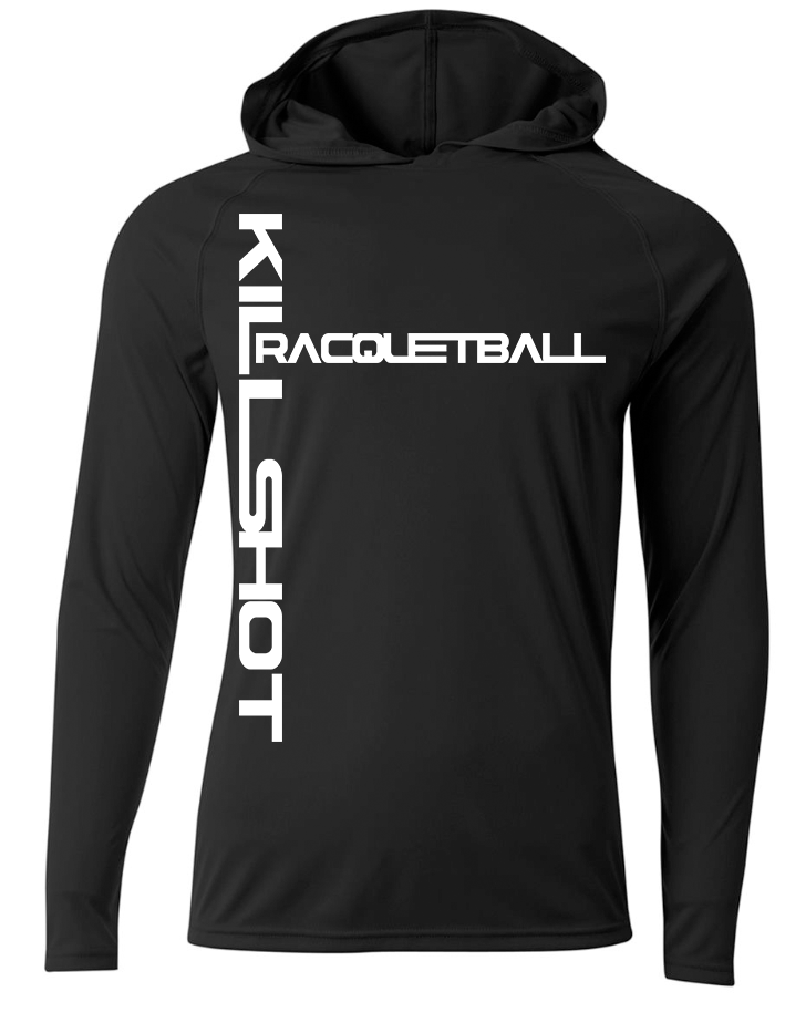 Killshot Racquetball Performance Hoodie - T- Long Sleeve | Killshot Racquetball