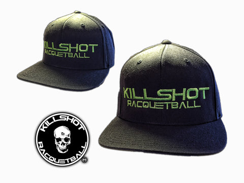 Killshot Racquetball | Neon Hat | Flexfit Adult Wool Blend Snapback Cap