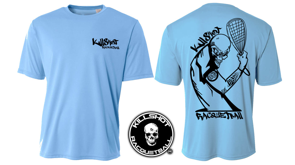 Killshot Racquetball |New School Performance T- Short Sleeve
