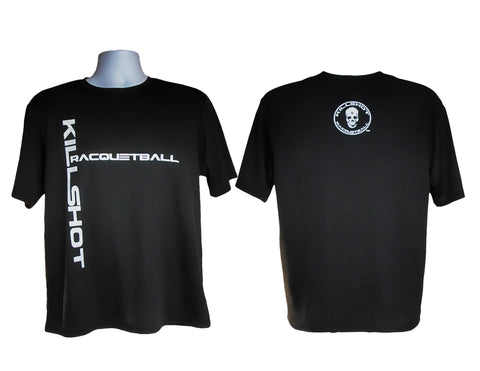 Killshot Racquetball Performance T- Short Sleeve Black