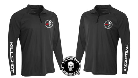 Killshot Racquetball | Tournament T- Long Sleeve 1/4 Zip