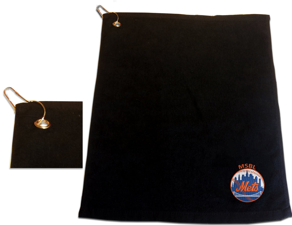 MSBL Mets | Baseball Bag towel |  Rally Towel with Clip | Large
