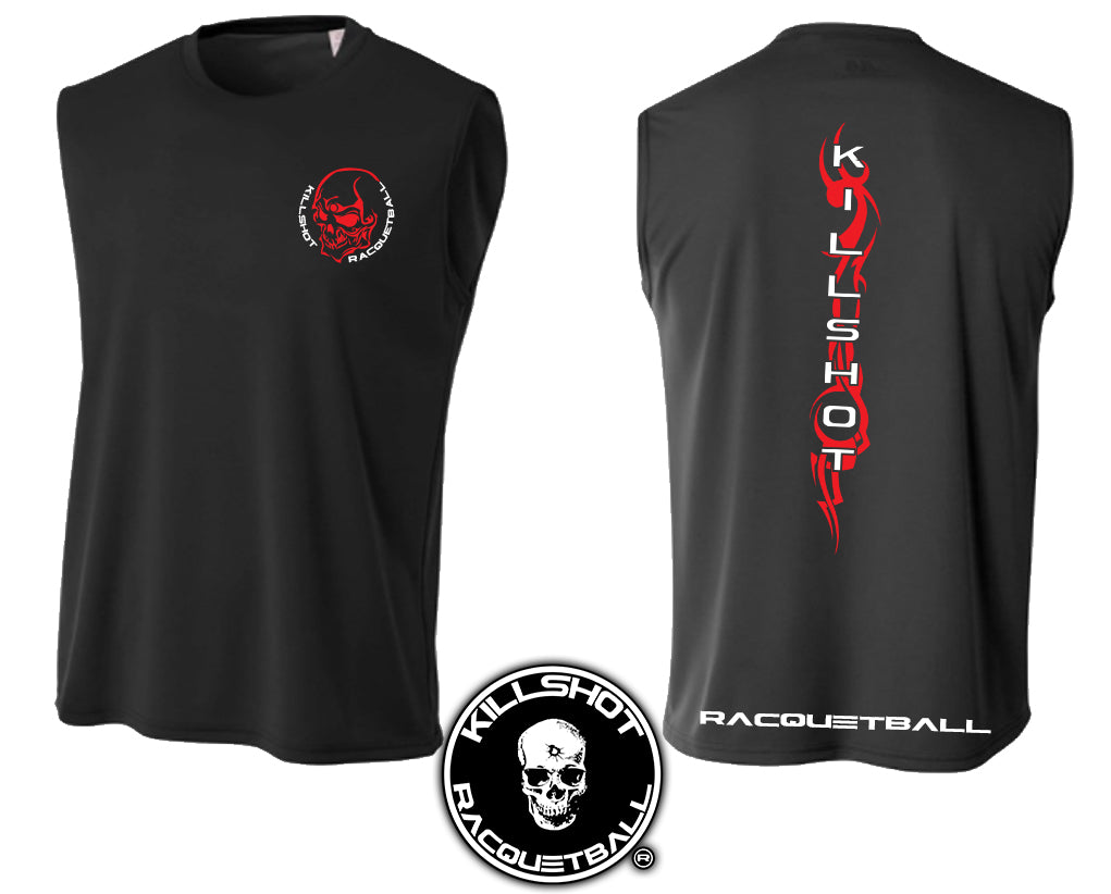 Killshot Racquetball | Muscle Shirt | Tribal Skull