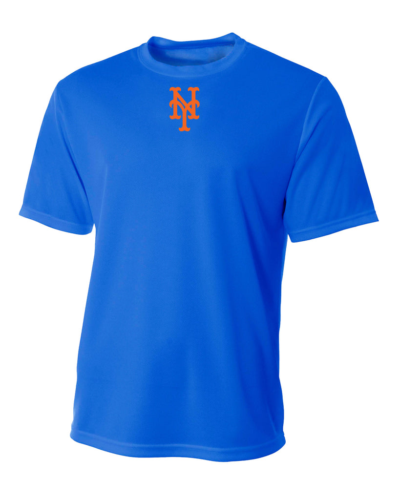 Custom Mens Senior League Baseball Jersey | Mets | Practice Shirt