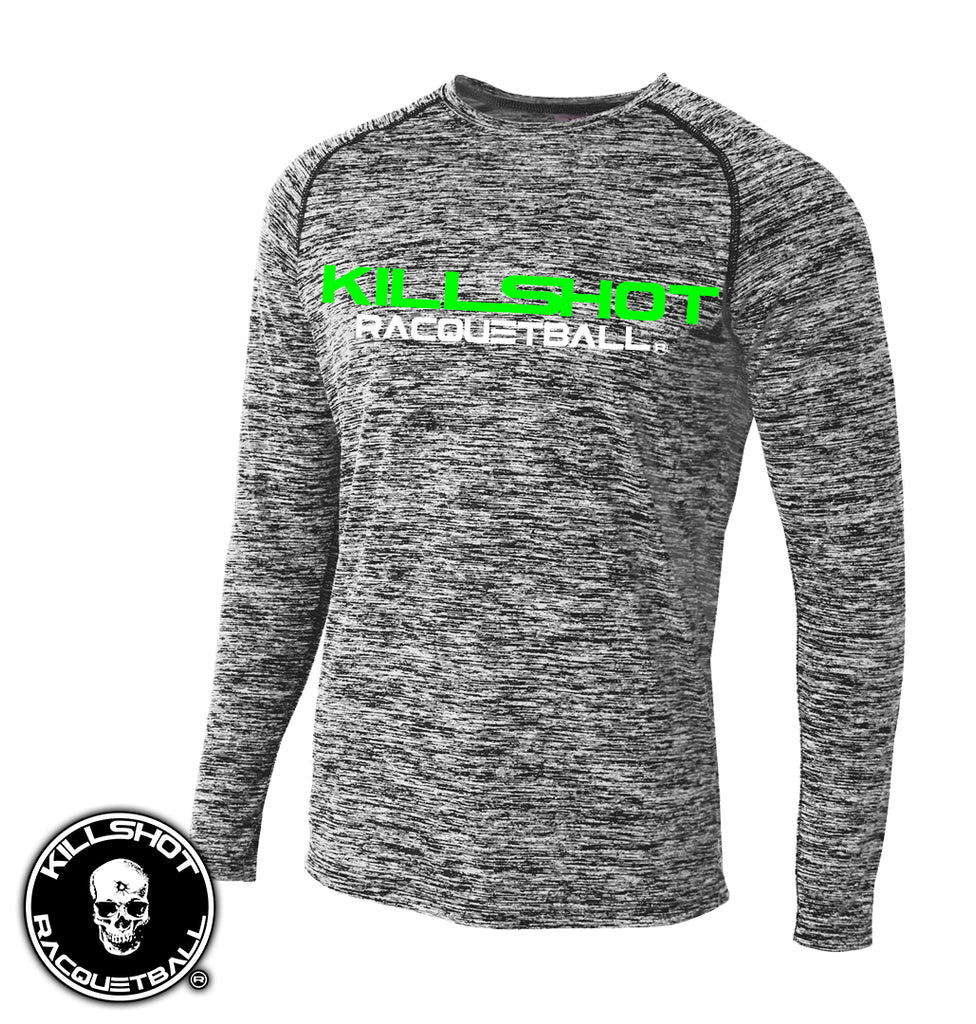 Killshot Racquetball | Tournament T- Long Sleeve Space Dye