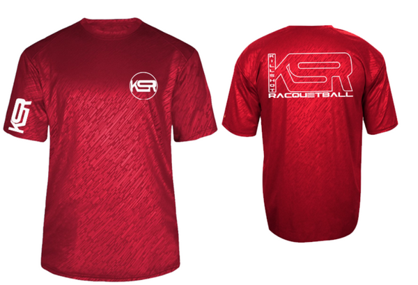 Killshot Racquetball | Performance T | KSR Embossed
