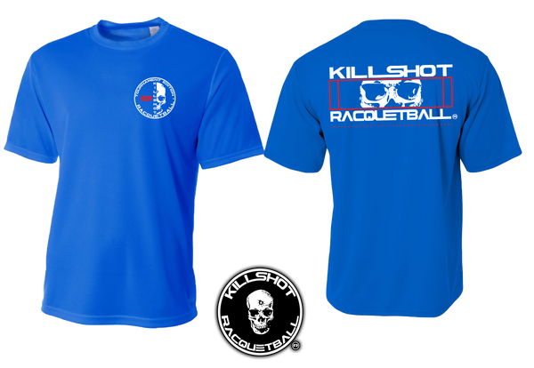 Killshot Racquetball | Performance T  | Half Court