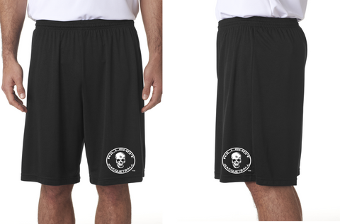 "Killshot Racquetball  Cooling Performance Shorts Black 9"" inseam"