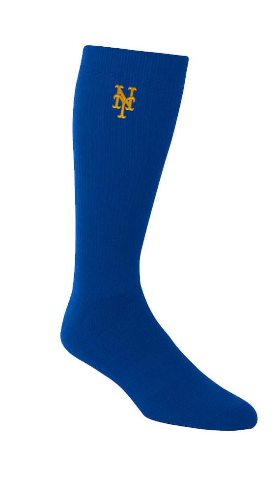 MSBL Baseball Socks | Mets | Embroidered Logo