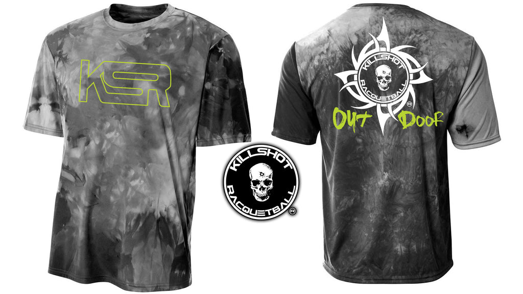 Killshot Racquetball | Performance T | Tie Dye Outdoor Racquetball