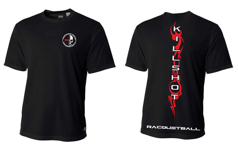 Killshot Racquetball | Performance T- Short Sleeve Black Tribal
