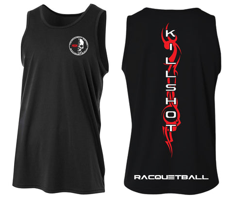 Killshot Racquetball | Performance Tank Top | Muscle Shirt Tribal