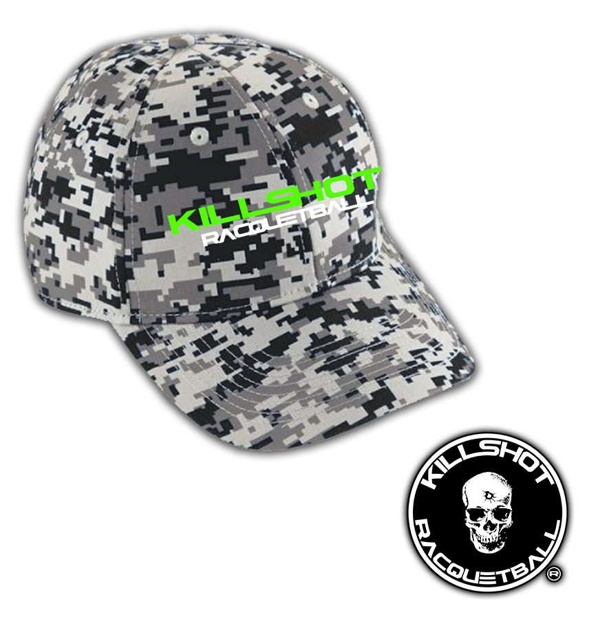 Killshot Racquetball | DIGI CAMO COTTON TWILL CAP