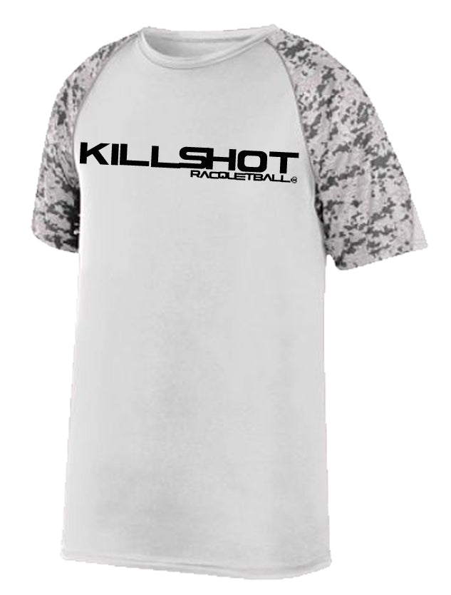 Killshot Racquetball | COLOR BLOCK DIGI CAMO | Performance T