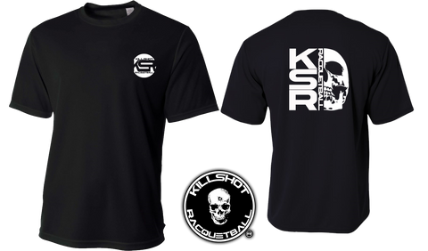Killshot Racquetball | Vertical KSR Racquet Performance T- Short Sleeve