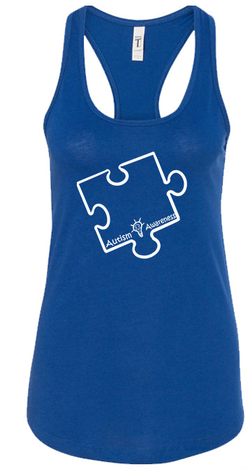 Autism Awareness women's Tank tops