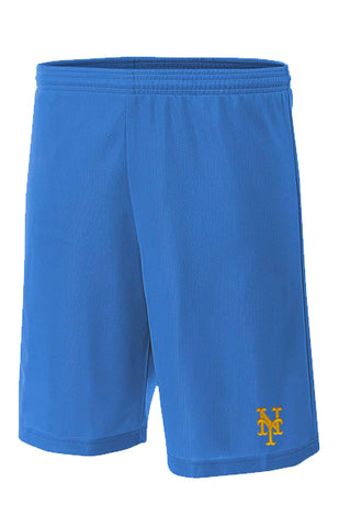 Mens Senior League Baseball Jersey | Mets | Practice shorts