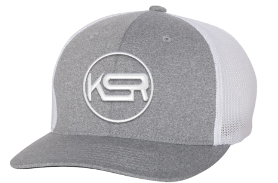 Killshot Racquetball | Flexfit Adult Poly Mélange Stretch Mesh Cap | KSR