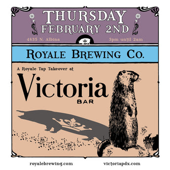Victoria Bar Tap Takeover!