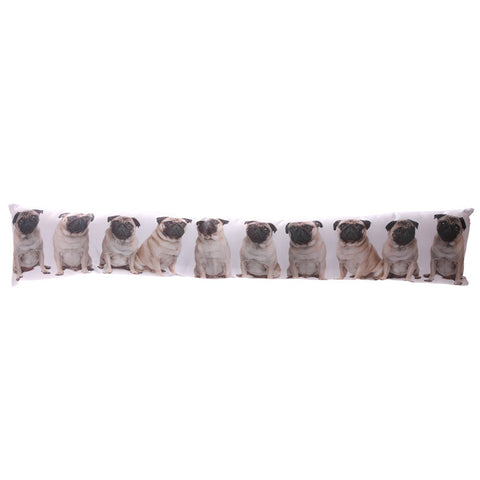 Cute Pug Design Draught Excluder