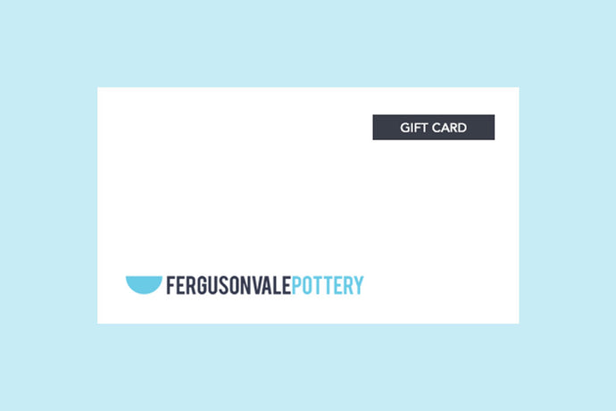 Pottery Gift Card
